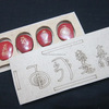 Red Jasper USAI Palmstone Set With
