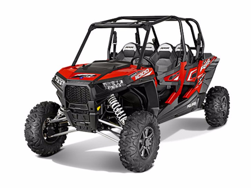2016 Polaris RZR XP 4 1000 EPS HAVASU RED PEARL
