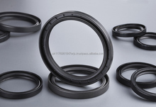 Rubber to metal binder adhesive for oil seals and heavy foundations