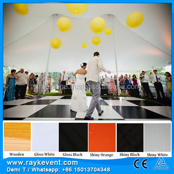 China best sale dance floor tiles/ banquet dance floor/ video dancing floor