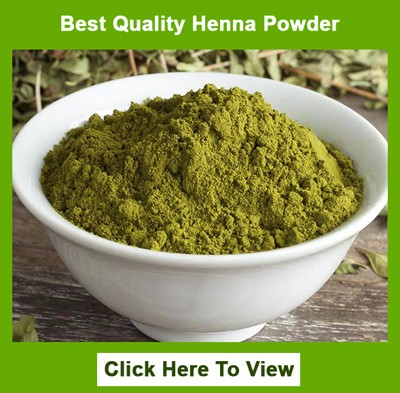 100% Pure Natural Henna For Hair Growth