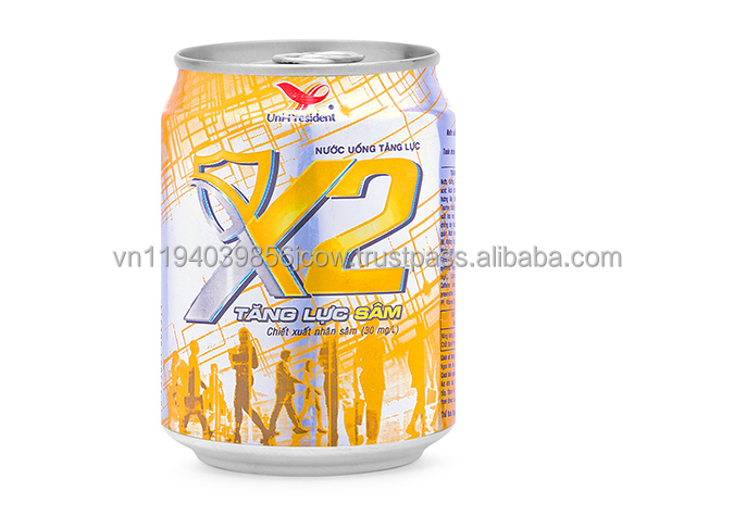 X2 Ginseng Energy drink 240 ml