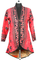 Indian Handmade Coat Women Cotton Quilted Jacket Quilted Jacket Manufacturer & Wholesaler