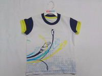 Kids T-shirt Round Neck Half Sleeve Printed Tee Cut Style in Sleeve Summer Fashion