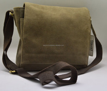 Suede Leather Fancy Light Weight Laptop Bag High Quality
