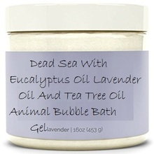 SPA Organic Dead Sea With Eucalyptus Oil, Lavender Oil And Tea Tree Oil Animal Bubble Bath Gel&Brand Name Shower Gel
