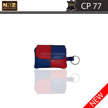 Promotion kids coin purse 600D polyester mini wallet zipper pouch
