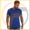 Online Shopping For Wholesale Clothing 100% Cotton Pink Longline Blank T-Shirt Slim Fit Men T Shirt