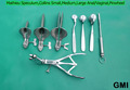 Mathieu Speculum,Collins Small,Medium,Large Anal Vaginal Pinwheel Adult Gyne Sex Tools Kit Male & Female