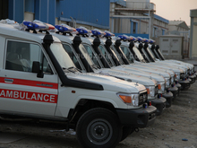 4x4 AMBULANCE FOR SALE IN AJMAN