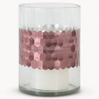 hammered mercury glass votives colorful mercury glass votive copper votive