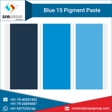 Pigment Paste Blue 15 for Paint, Plastic and Rubber Industries