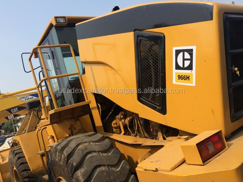 Factory price used Cat wheel loader 966H, used Cat 966H wheel loader for sale