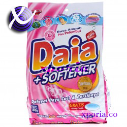 DAIA Powder Detergent + SOFTENER 900gr | Indonesia Origin