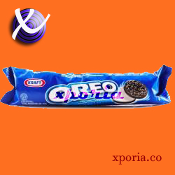 OREO Biscuit Sandwich VANILLA CREAM 137gr | Indonesia Origin | Cheap popular chocolate cookies with cream filling