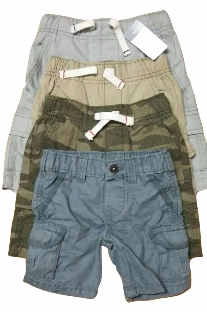Boys Branded Cargo Shorts (Garment Stock lots / Apparel Stock / Stocklots / Garment Apparel from Bangladesh)