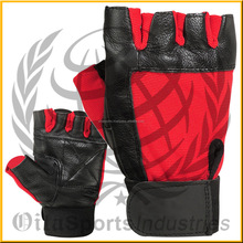 Hot Selling Gel Weight Lifting Body Building Gloves / Gym Strap Training Leather Grip / Professional Gym