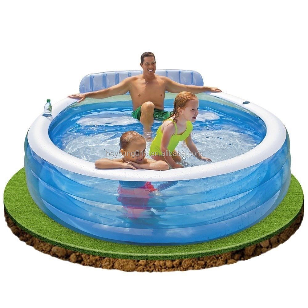 Intex ocean Reef inflatable kids swimming pool colorful inflatable pool