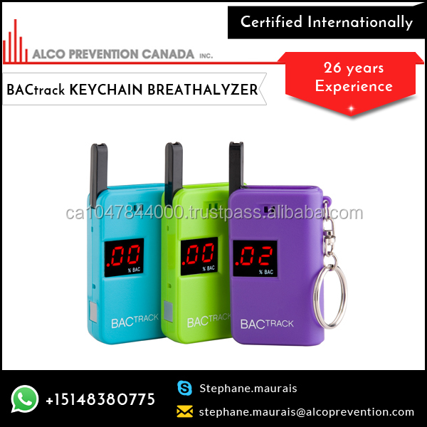 Bright LED Display Screen Breathalyzer Alcohol Tester
