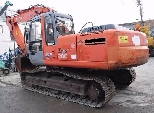 <SOLD OUT> ZX200 Used Hitachi Digger 0.7m3 Bucket Size