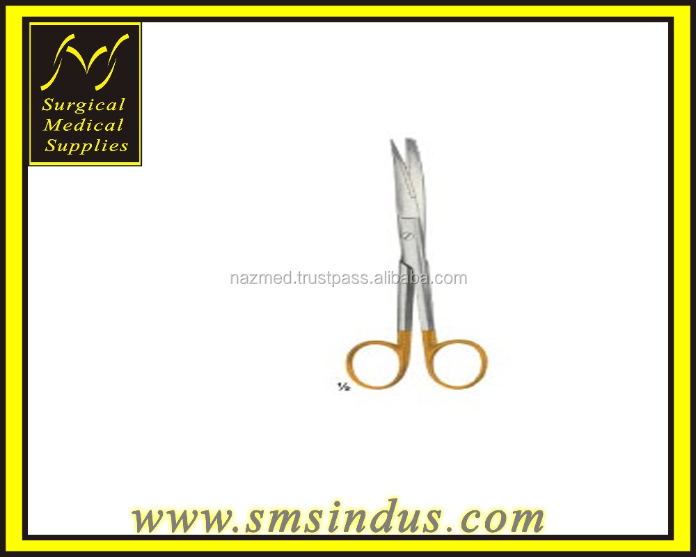 STANDARD SCISSORS TC CURVED SH BL