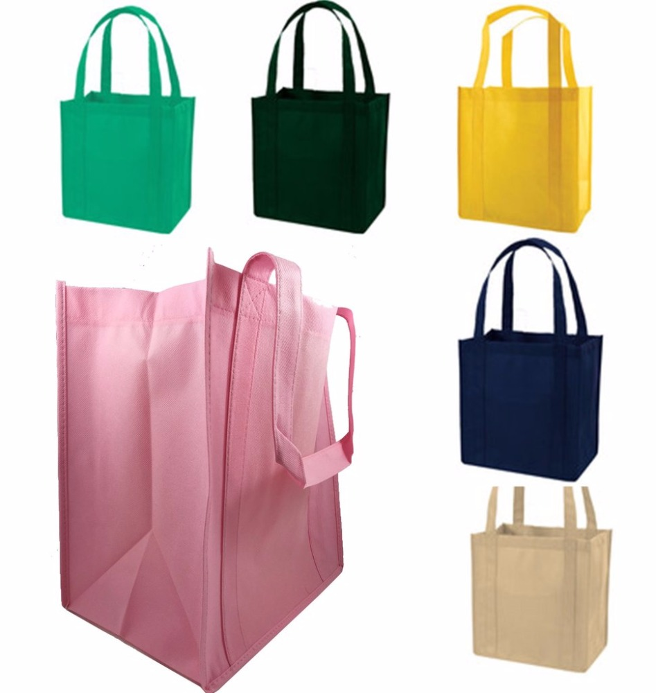 Non-woven Material and Handled Style grocery Bag