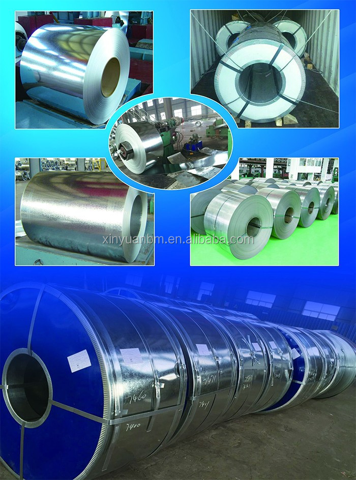 China Manufacturer Galvanized Steel Coils/ Steel Strips