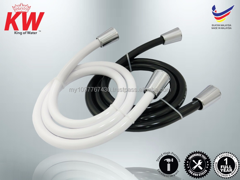 PVC Hose / Tap Connector / Rubber Water Hose / Hose Pipe / Shattaf Hose / Rubber Tube / Hand Shower Spray Hose (KW Water)