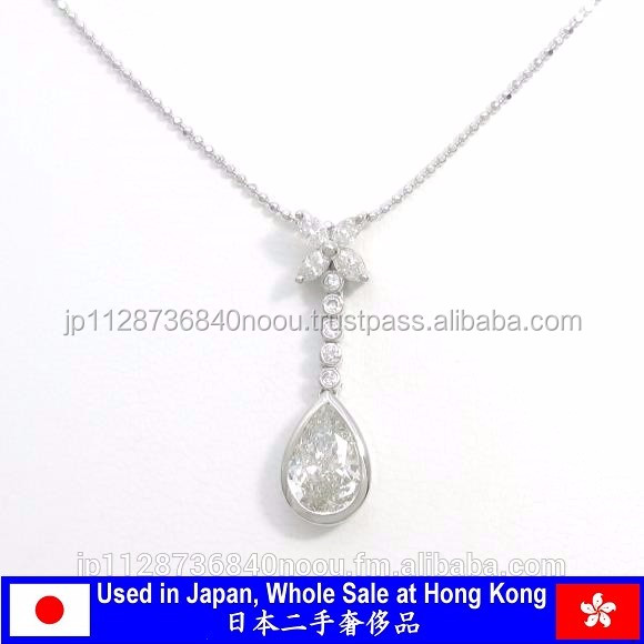 Various types of genuine diamond necklaces jewelry , other secondhand item available