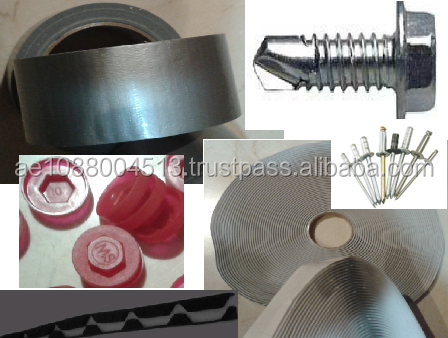Accessories / Fixing items for Roof sheets/Sandwich panels +971 56 5478106 Dubai - Screws/Tapes/Sealants for roof fixing - Qatar