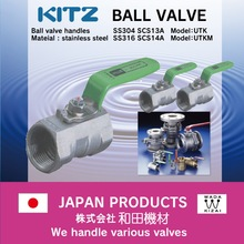 reasonable prices and Stainless steel ckd valves japan KITZ Ball valve with High-security