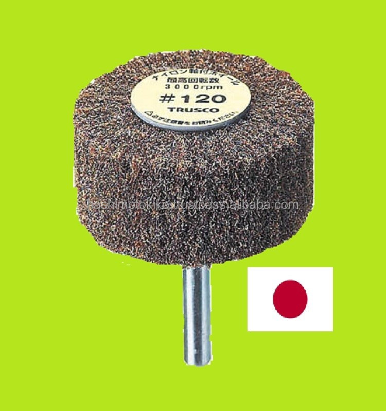 Best-selling japanese very shaved nylon abrasive grinder wheel brush