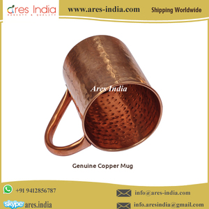 Manufacturer of 100% Solid Pure Copper Custom Moscow Mule Mug