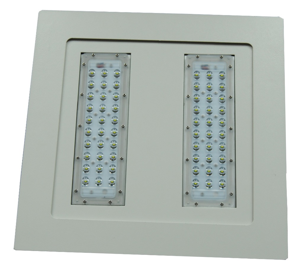 Singapore 100W UL LED Petro Station Light,CREE LEDs, Light Sensor, Motion Sensor, Emerency, Dimmable IP65 UL LED Gas Station