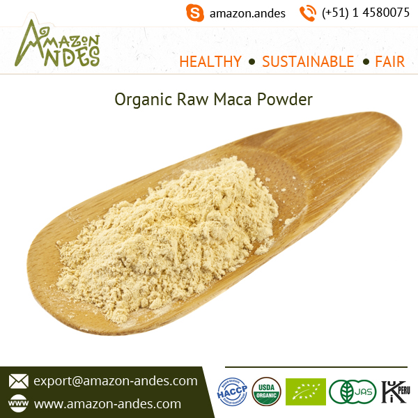 Organic Raw Maca Powder to Increase Immunity and Fertility in Both Genders