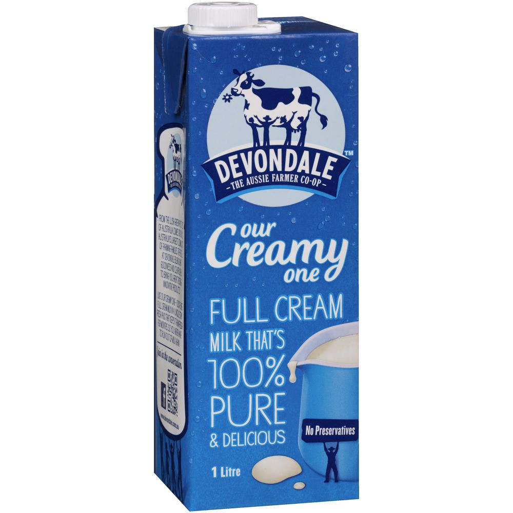 High Nutrition UHT FULL CREAM MILK