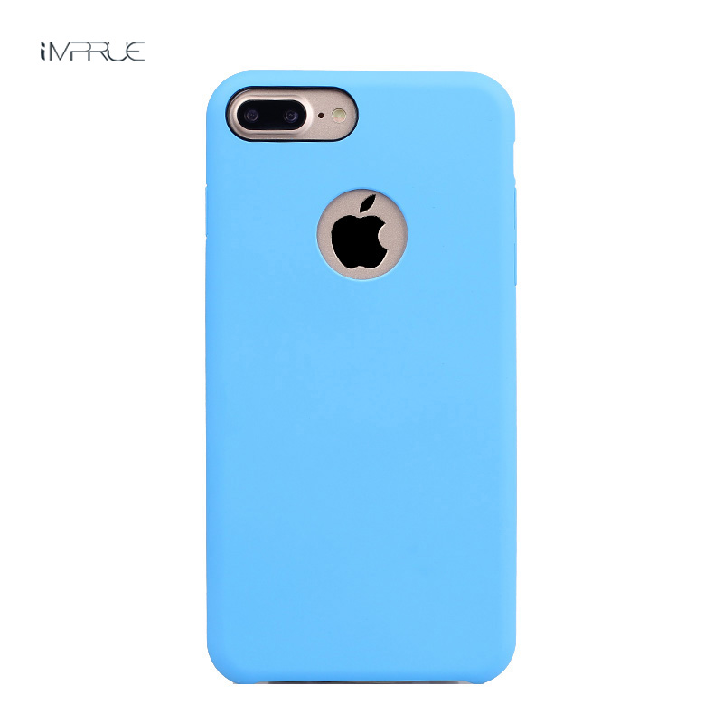 New pure color phonecaseFor iPhone7/7plus Anti Shock Protection Phone Case For iPhone7/7plus Cover Candy Silky Soft Touch Fundas