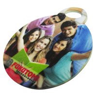 Hardboard/ fibreboard sublimation luggage tag