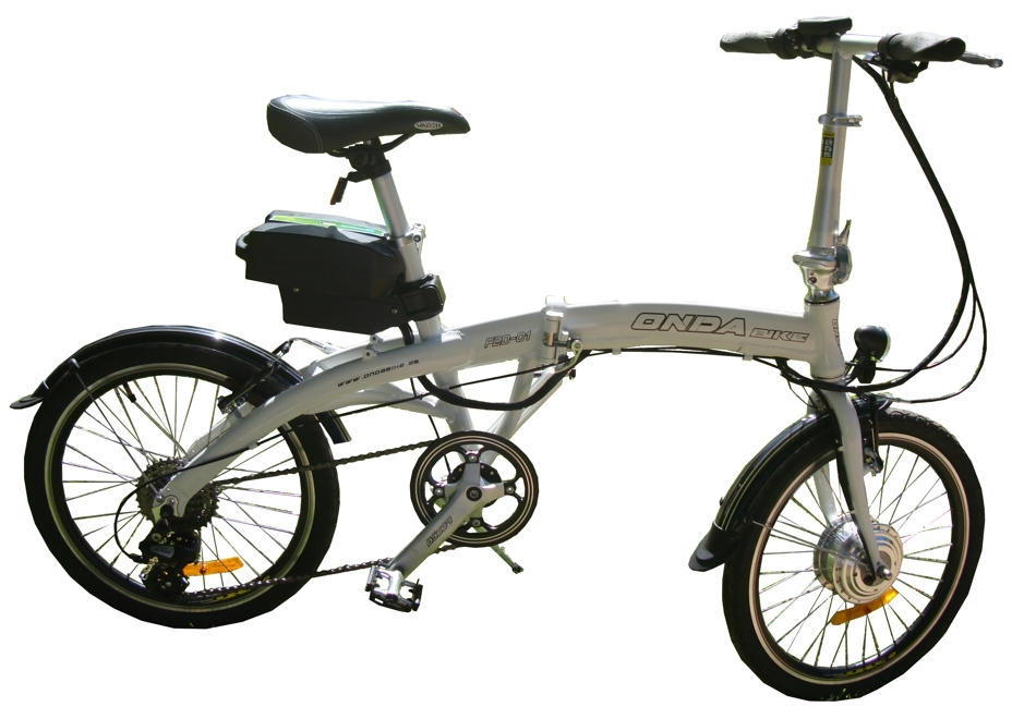 "Folding Electric bike 20"" with 8 speeds"