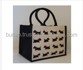 jute shopping bag sets