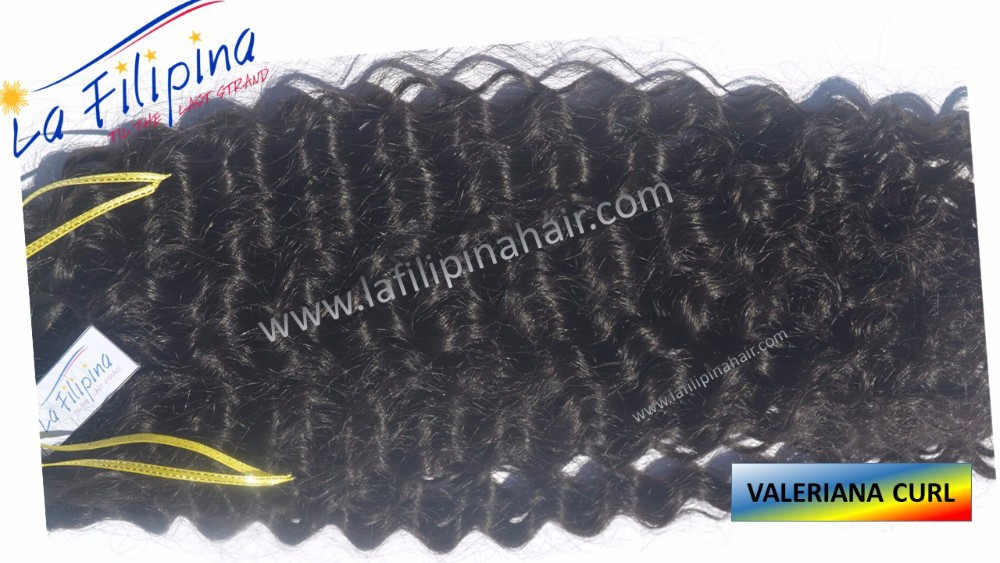 Valeriana curls hair extension made of 100% Filipino human hair, remy hair