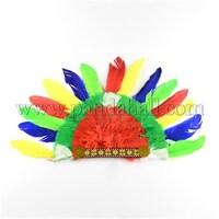 Indian Headdress, Native American Headband for Carnival Jewelry, Colorful, 300x480mm