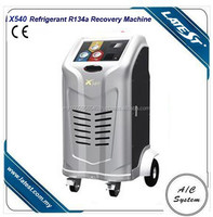 hOT SALE!High Efficiency Refrigerant Recovery Machine Air Conditioning Equipment , Blue / Red Jacket