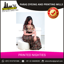 Good Collection of Fancy Printed Nighties for Ladies