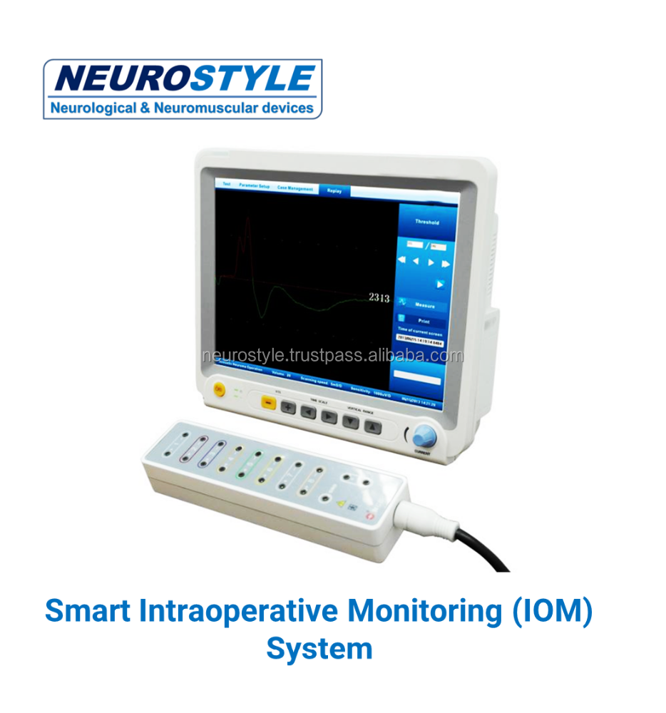 New Intraoperative monitoring medical device with EMG endotracheal tubes