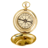 Artshai Beautiful Push Button 2 Inch Magnetic Compass
