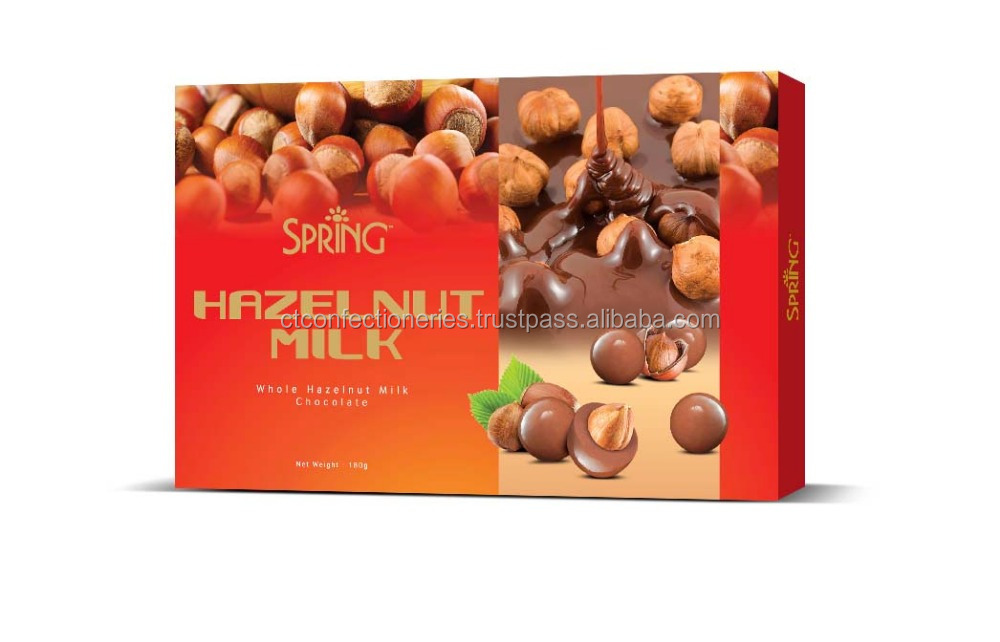 Spring Hazelnut Milk Chocolate 180g