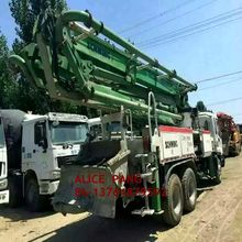 used schwing truck mounted concrete pump