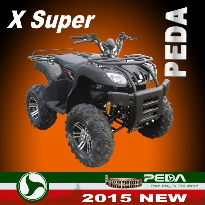 (ATV Super LUX) 2016 NEW ATV FOR SALE QUAD 200cc ATV for sale EEC Italian design high quality (PEDA MOTOR)