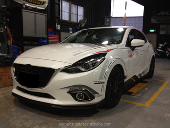 Best Seller! Body Kit for 2015 MAZDA 3 in high quality ABS Material